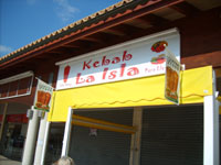 A Kebab Shop in Alcudia Selling Fast Food