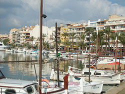 Harbour of Alcudia on Mallorca